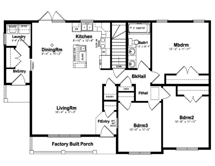 Perfect Open Floor Plan Love Dream Home Ideas Pinterest