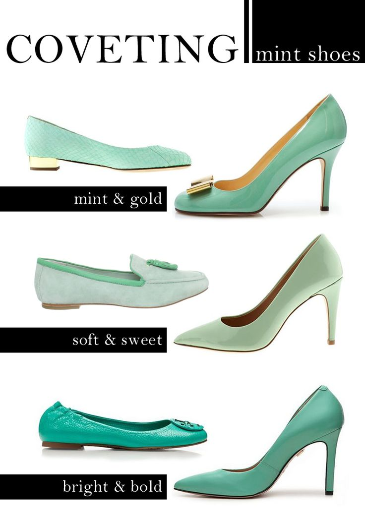 YES...!!!! to Mint Shoes