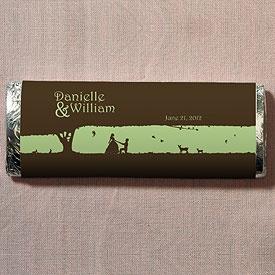 Fairytale Charm Nut Free Gourmet Milk Chocolate Bar specialtyribbon ...