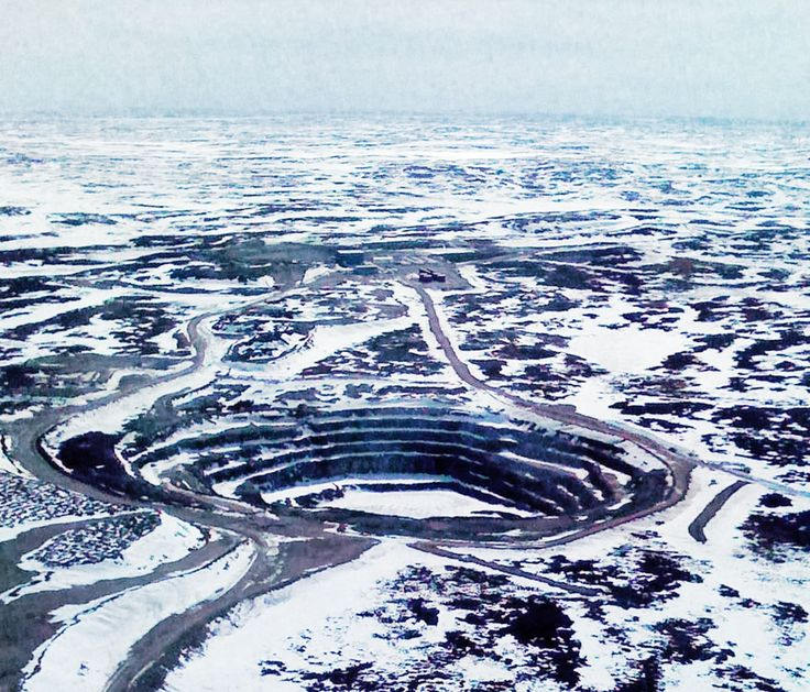 nunavut diamond mines