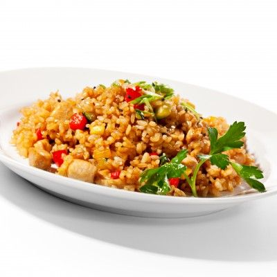 Brown Coconut Rice with Cilantro | Spicing Things Up | Pinterest