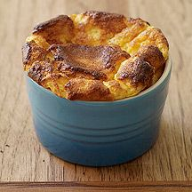 Maple Bacon Eggs and Cheese Soufflé | Healthy-esque Foods | Pinterest