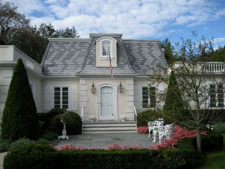 Mansard style beautiful homes exterior pinterest for Mansard style homes