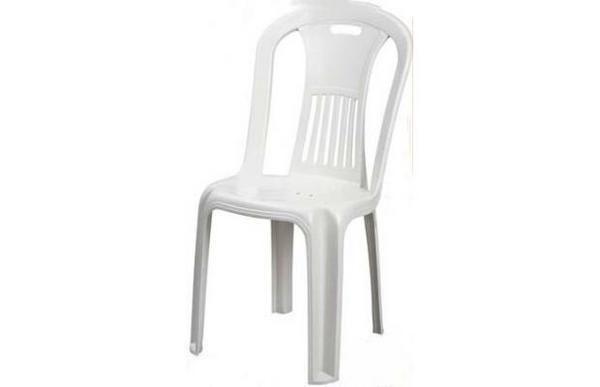 Silla de pl stico amor entre sillas nadia g lvez - Sillas de plastico para terraza ...
