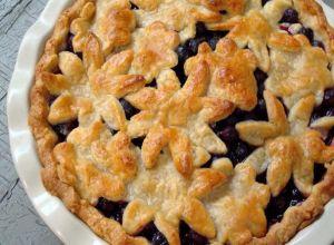 Blueberry Pie With Sweet Almond Crust | Desserts/Yummies | Pinterest