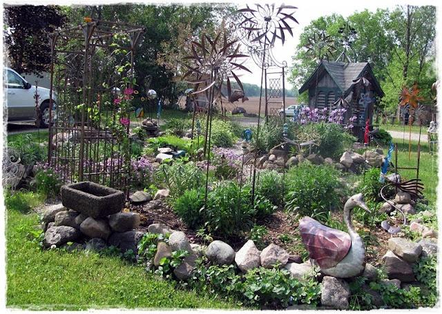 A Whimsical Cottage Farm Tour Gardening Pinterest