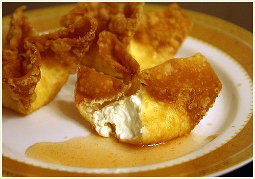Cream cheese wontons | Scrumdiddlyumptious! | Pinterest