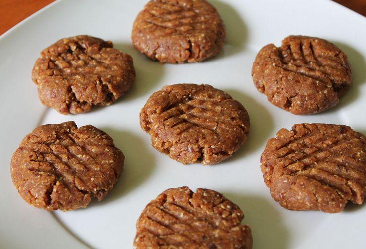 flourless cashew butter cookies   Dirty Little Desserts   Pinterest