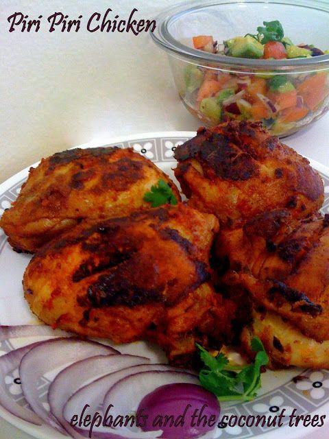 elephants and the coconut trees: Piri Piri Chicken