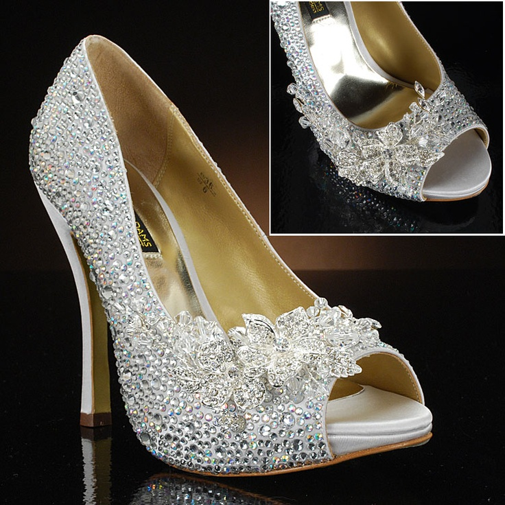 ADAMS ATHENS-PK Wedding Shoes and ATHENS-PK Dyeable Bridal Shoes
