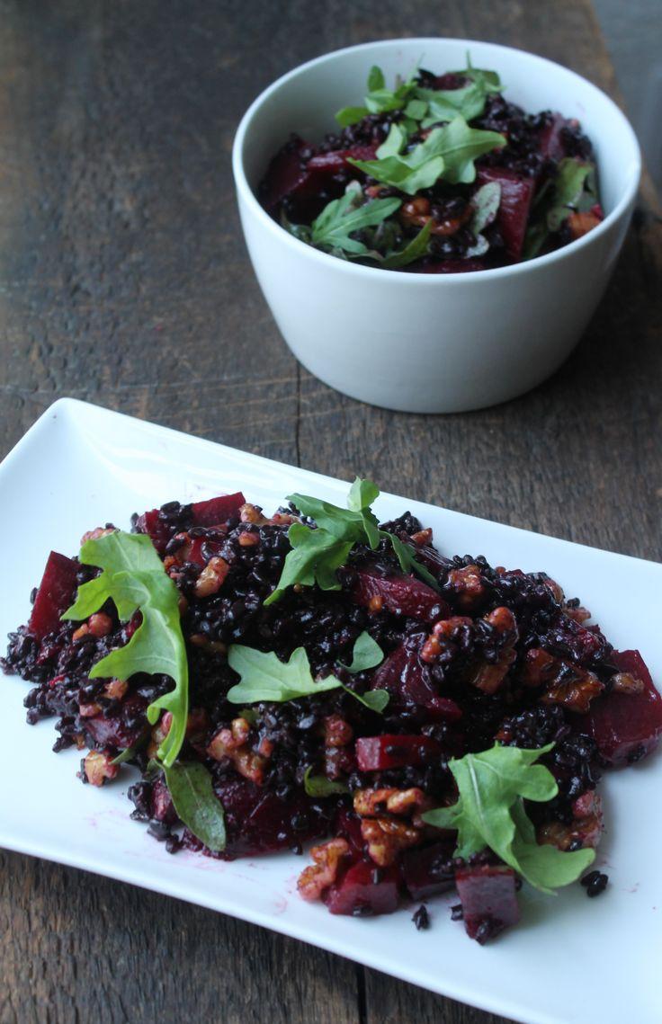 Black Rice Salad | Salads & Dressings | Pinterest
