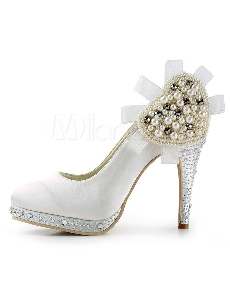 rhinestone pearl shoes rhinestone pearl flower wedding