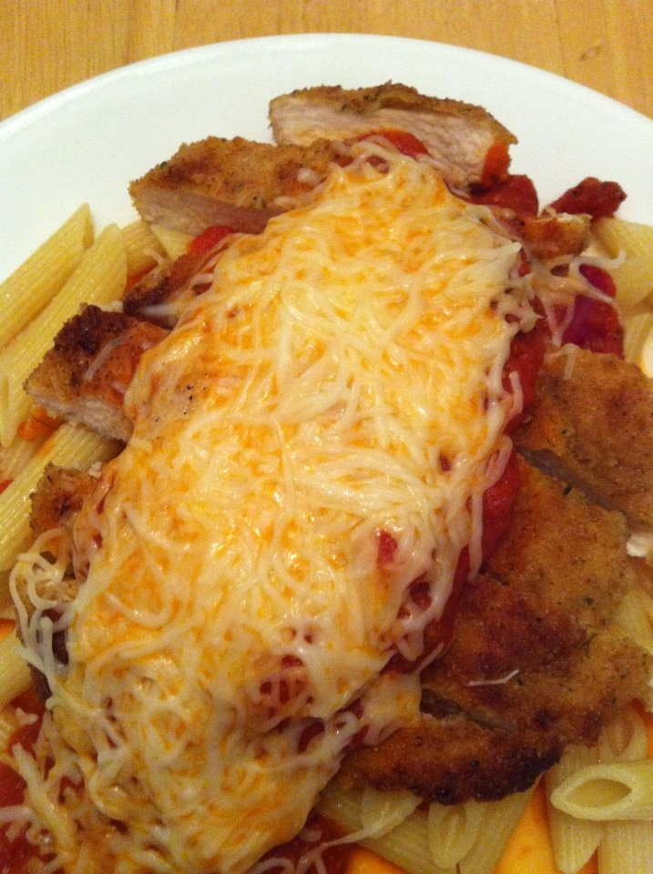 Chicken Parmesan - not low fat at all | My Healthy Appetite | Pintere ...