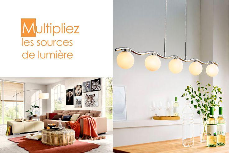 luminaire design plusieurs plafonniers  Inspirations déco ...