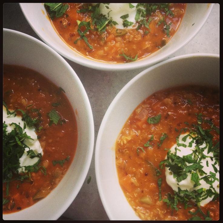 Middle Eastern Lentil Soup | Food | Pinterest