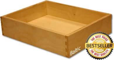 Dovetail drawer box 5 8 baltic plywood for the home for Premade kitchen drawers