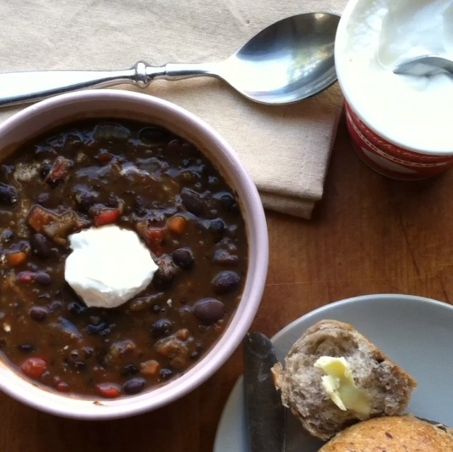 Black Bean Soup - Click for Recipe   Soups & Stews   Pinterest