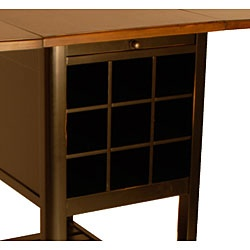 Tablekitchen furniture serves as a kitchen island or a counter table