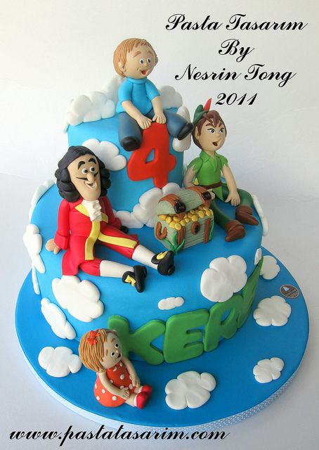 Peter Pan cake inspiration