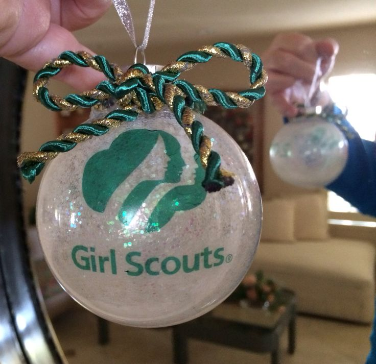 Homemade Christmas Ornaments For Girl Scouts : Pin by katie pargola on girl scout crafts