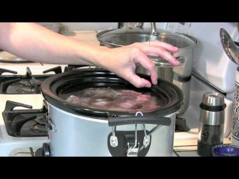 How To Make Beef Stock -Bone broth | Soups | Pinterest