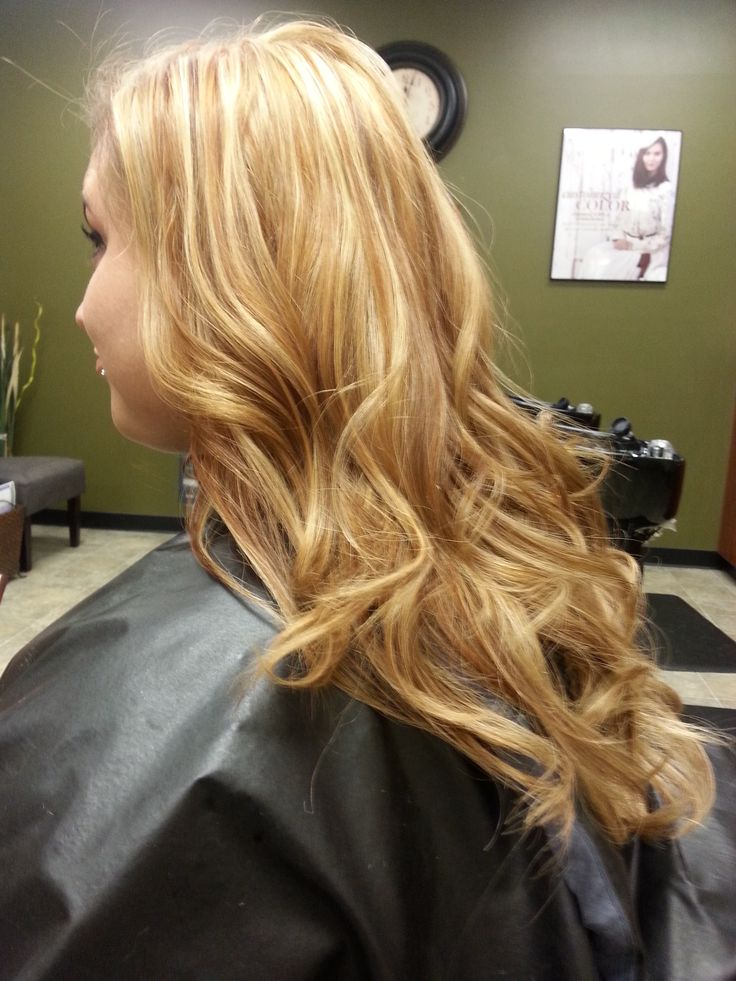 & copper Aveda color; loose curls | Hair Color / Cut Ideas | P