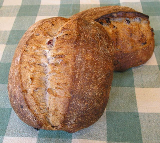 cranberry walnut bread | Bread/Muffins/Scones | Pinterest