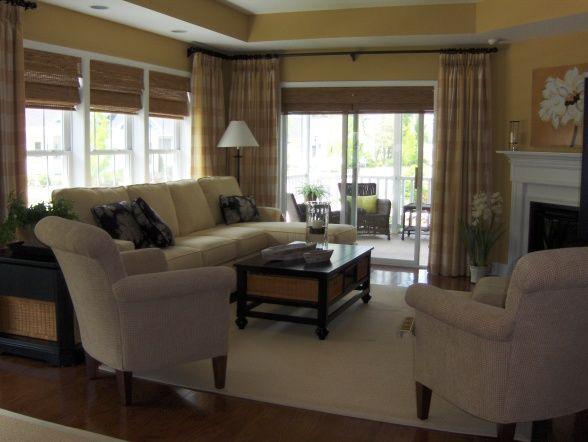 Tapeten Living Walls Golden Fleece : Monochromatic Living Room