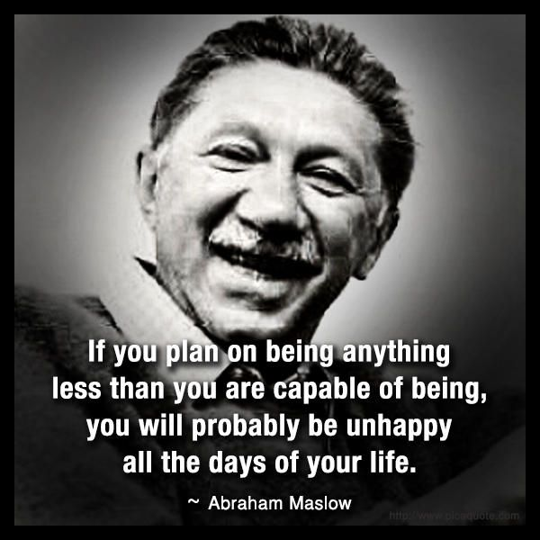 the life of abraham maslow Maslow's hierarchy of needs is a fundamental theory in psychology, but it's of more than just abstract interest this theory – invented by abraham maslow in 1943 – could be useful for your everyday life.