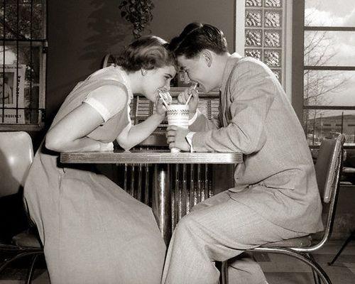 teen love 1950's by myvintagelove, via Flickr