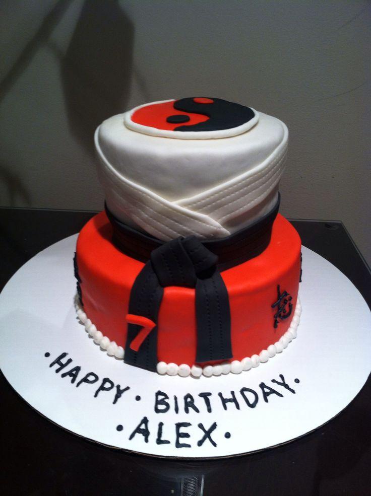 Martial Art Cake Ideas : Martial Arts In Cake Ideas and Designs