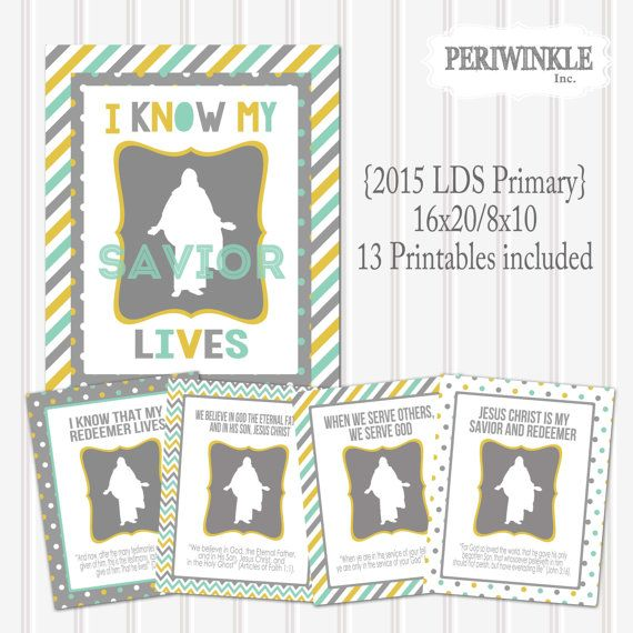Lds Primary Bulletin Board Ideas June 2015 | just b.CAUSE