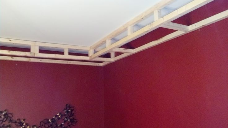 Diy tray ceiling