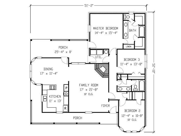Floor Plan Retirement Thoughts House Plans Pinterest