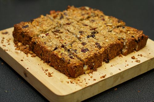 Homemade Thick, Chewy Granola Bars | Recipes To Tryyy | Pinterest