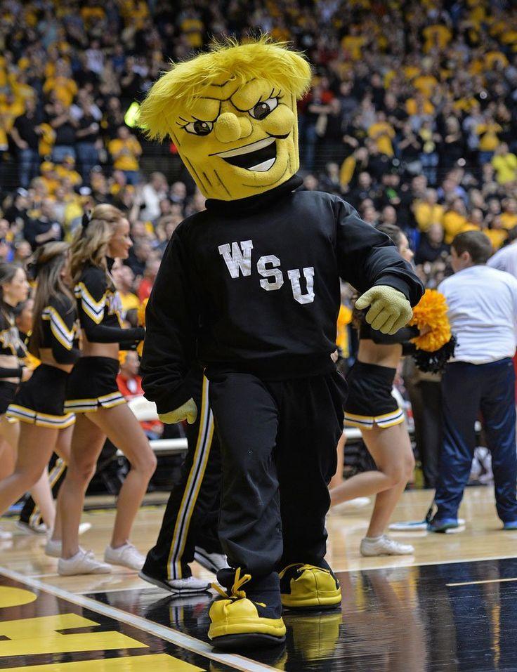 Wichita State Shockers mascot, WuShock | Mascot | Pinterest