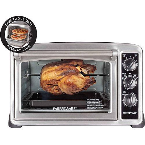 FARBERWARE Convection CounterTop Oven, Stainless Steel...another new ...