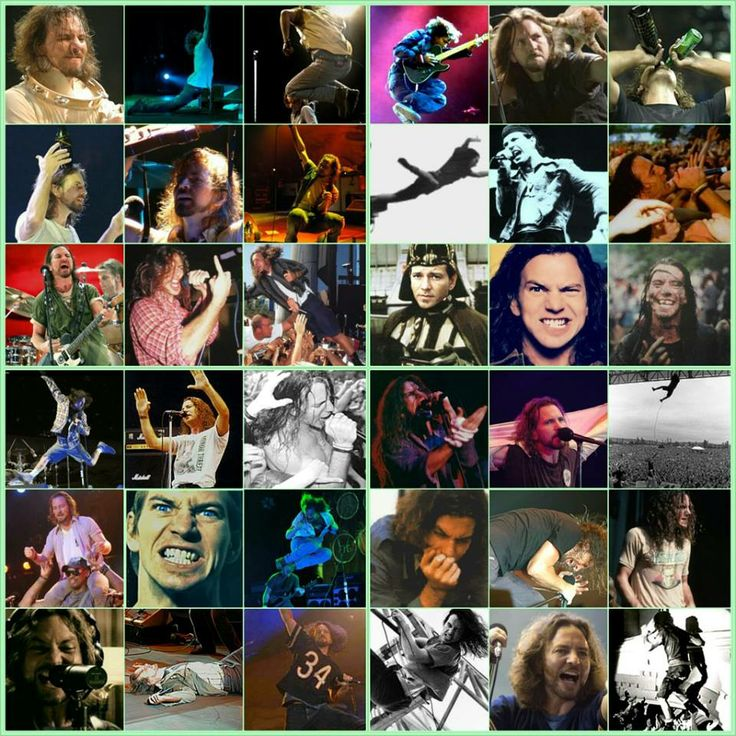 The many faces of Eddie Vedder