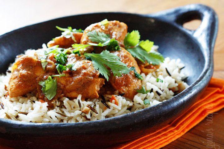 Skinny Chicken Tikka Masala   Healthy Eats :)   Pinterest