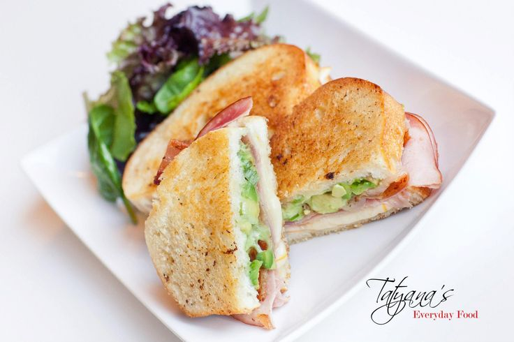 Bacon-Avocado Grilled Cheese Sandwich | Sandwiches/Canapes/appetizers ...