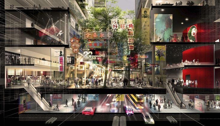 """Foster + Partners """"City Park"""" in Hong Kong"""