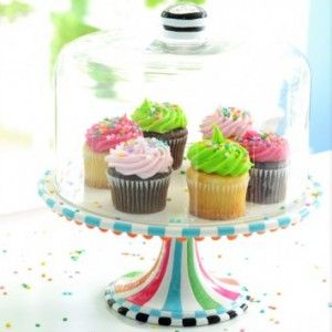 Sweets & Treats Domed Cake Stand