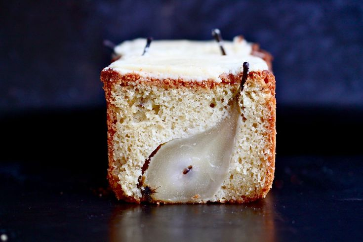 "Cardamom cake with whole pears [from the recipe from the ""Home Made ..."
