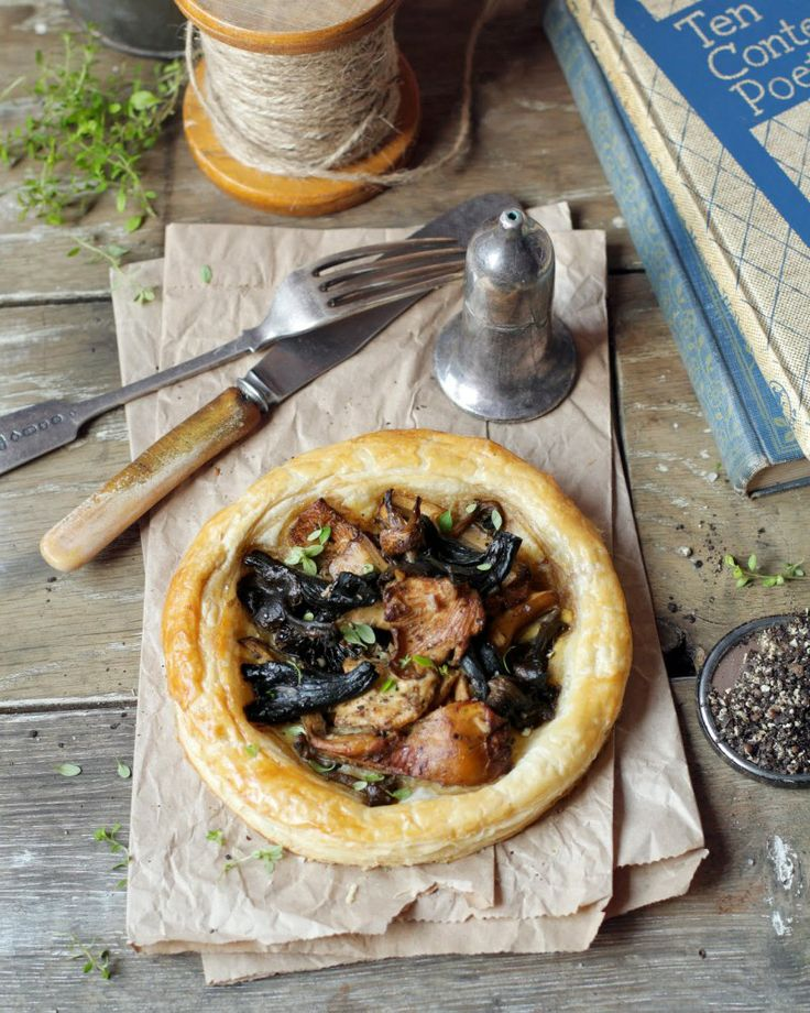 Mushroom Tart | recipes.vegetarian | Pinterest