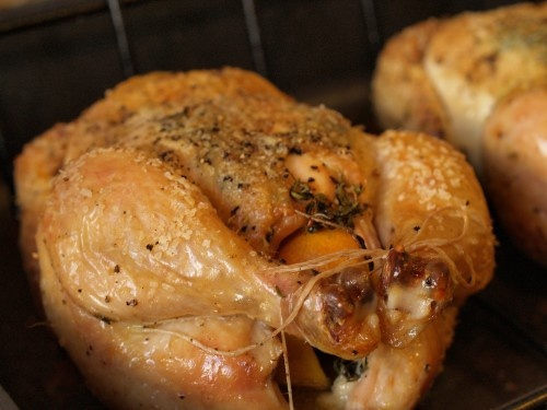 Classic roasted chicken | Food/Drinks | Pinterest