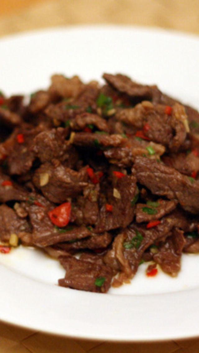 Hunan Beef with Cumin | Food | Pinterest