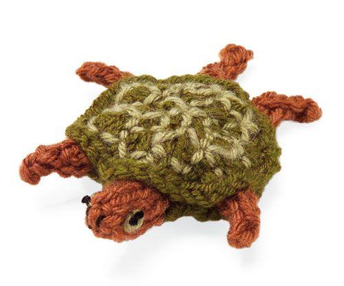Knitted Amigurumi Sea Creatures : Knit Sea Creature: Sea Turtle knit/crochet amigurumi ...
