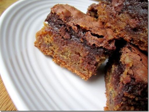 Brownie Cookie Toffee Layer Bars | Cook it | Pinterest