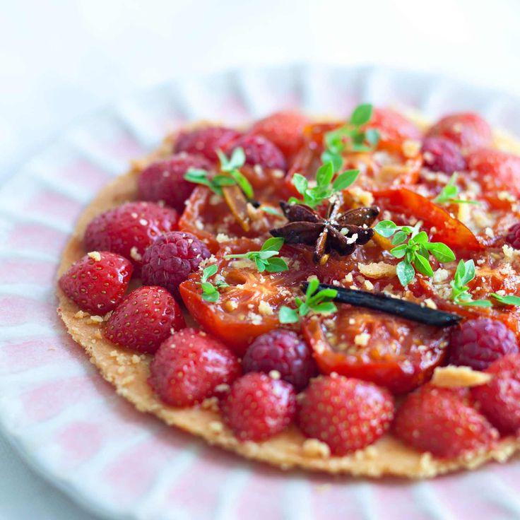 Tartelette sablée aux fruits rouges  Recipe