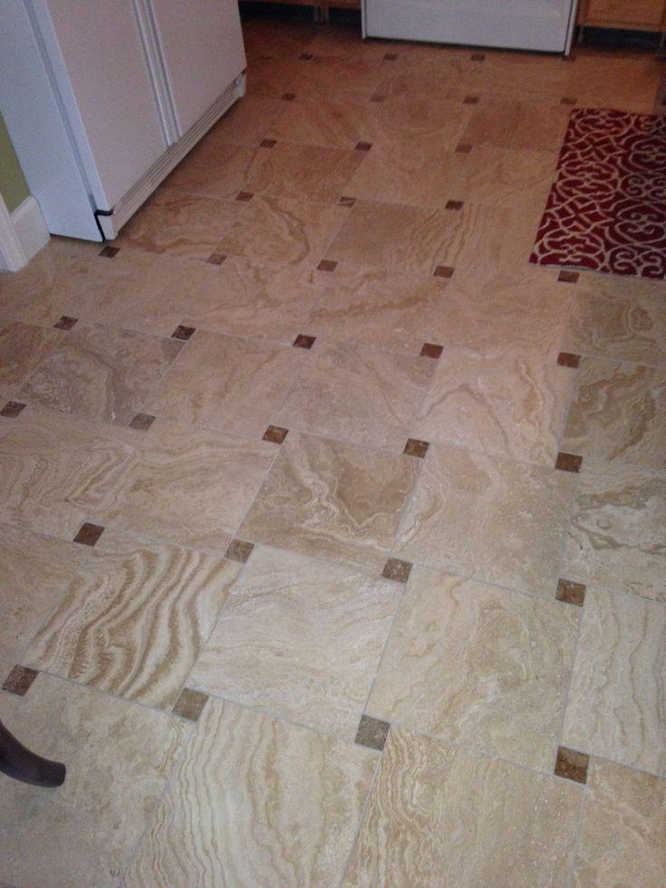 Comtravertine Kitchen Floor : Travertine kitchen floor  My New Kitchen  Pinterest